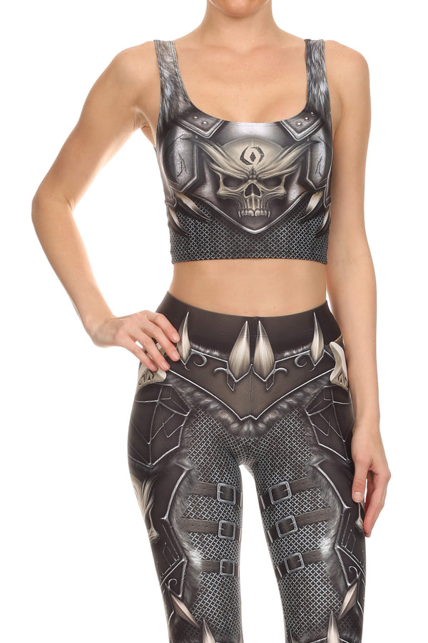 Barbarian Crop Top - POPRAGEOUS  - 1