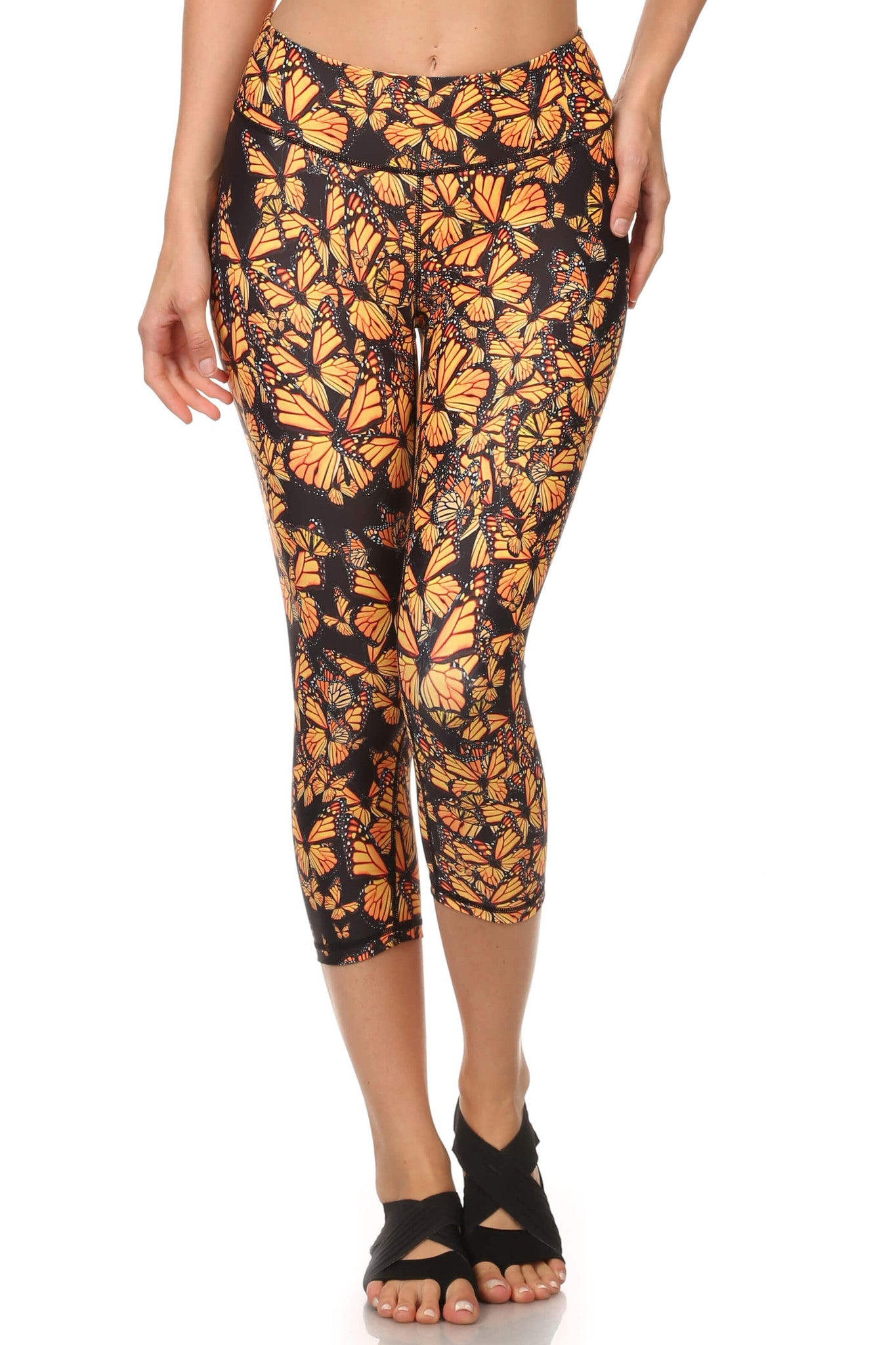 Attack of the Monarchs Dream Capris - POPRAGEOUS  - 1