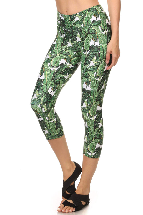 Banana Leaf Dream Capris - Special Edition - POPRAGEOUS  - 2
