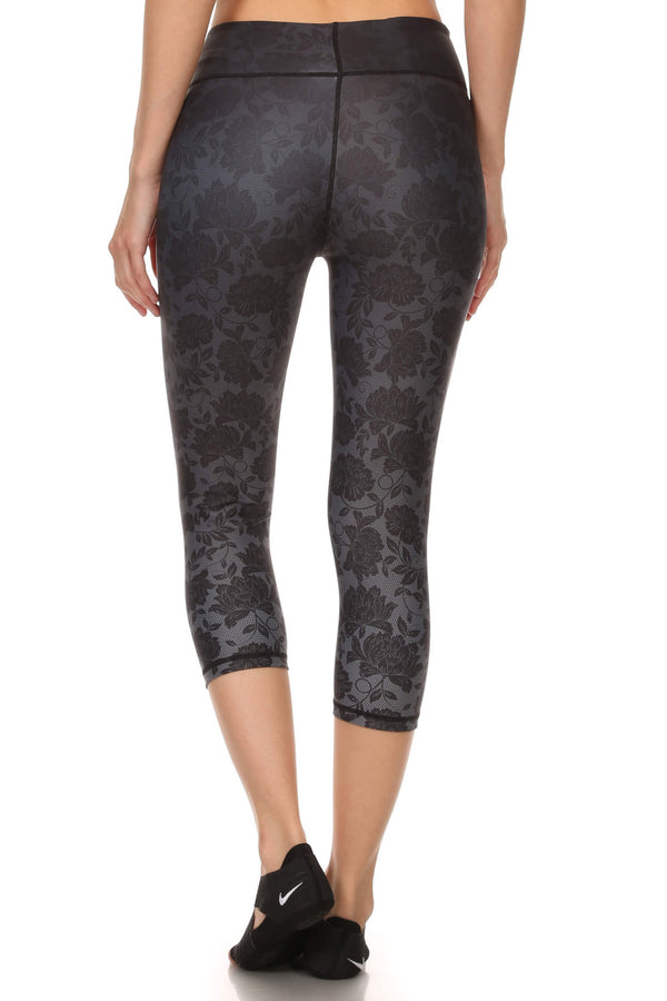 Black Ombre Lace Dream Capris - POPRAGEOUS  - 3