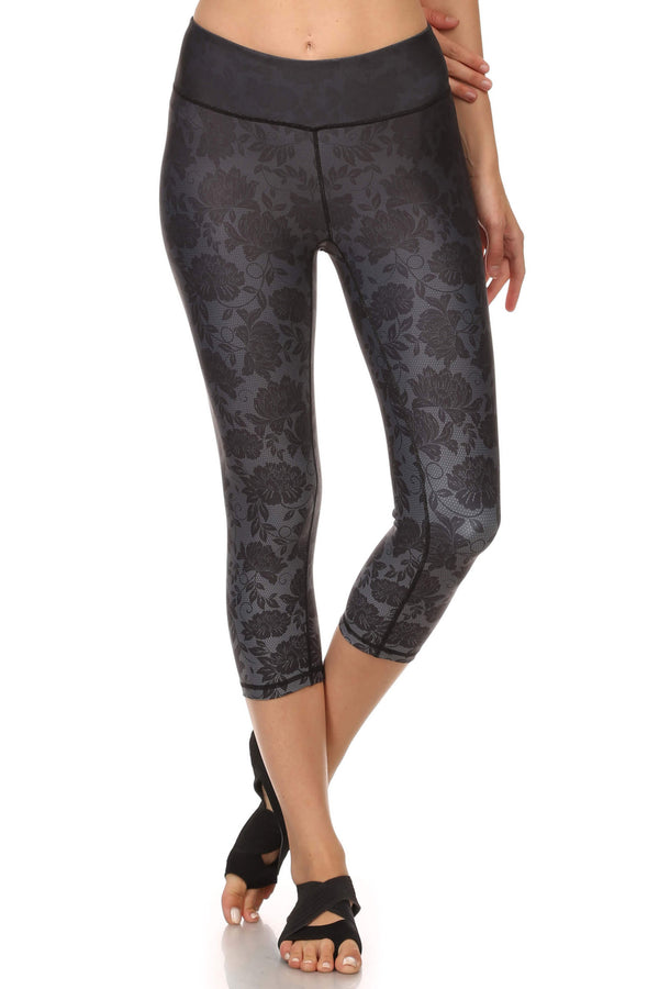 Black Ombre Lace Dream Capris - POPRAGEOUS  - 1