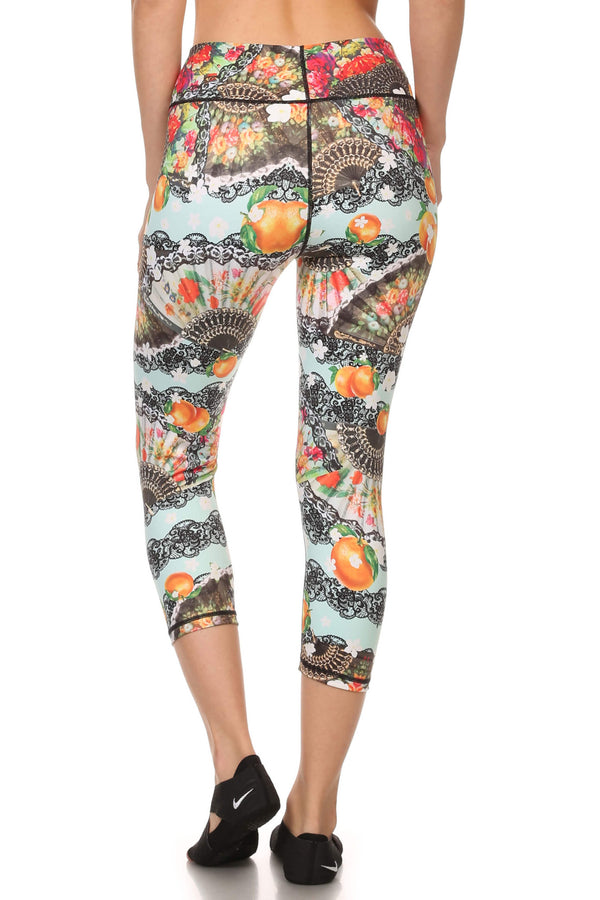 Spanish Romance Dream Capris - POPRAGEOUS  - 3