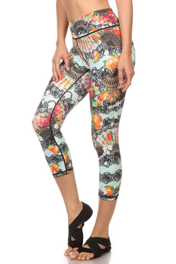 Spanish Romance Dream Capris - POPRAGEOUS  - 2