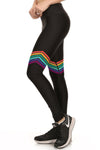 70s Rainbow Dream Leggings - POPRAGEOUS  - 2