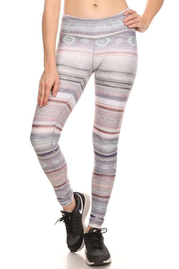 Pastel Mex Dream Leggings - POPRAGEOUS  - 1