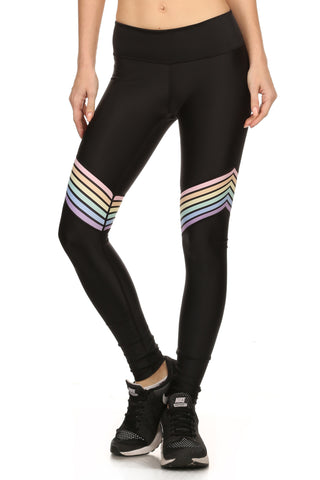 Pastel Rainbow Dream Leggings - POPRAGEOUS  - 1