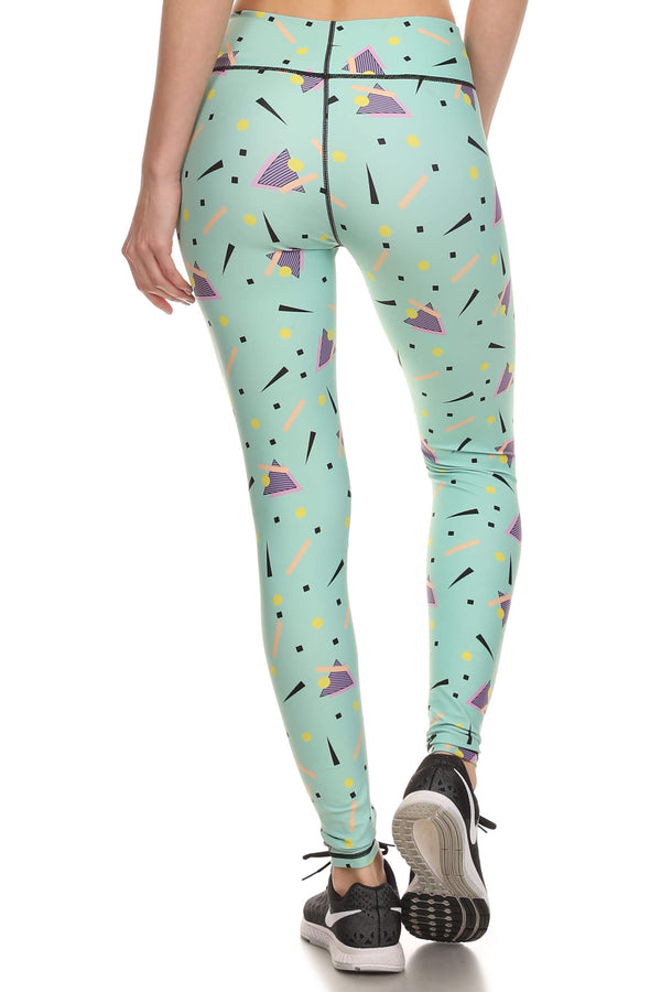 90's Mint Dream Leggings - POPRAGEOUS  - 3