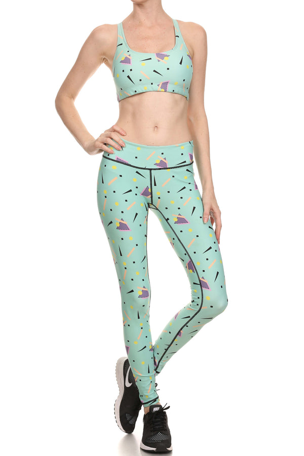 90's Mint Dream Leggings - POPRAGEOUS  - 4