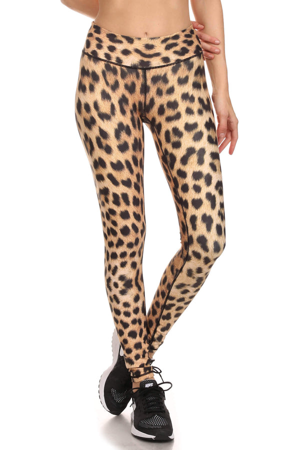 Leopard Dream Leggings - POPRAGEOUS  - 4