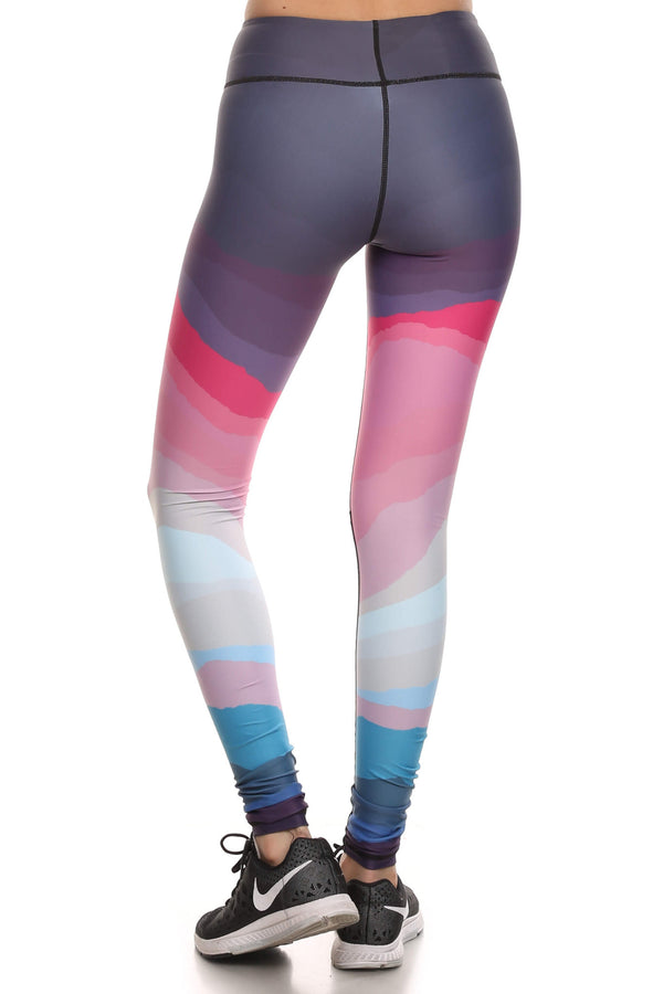 Minimalist Dream Leggings - Purple - POPRAGEOUS  - 3