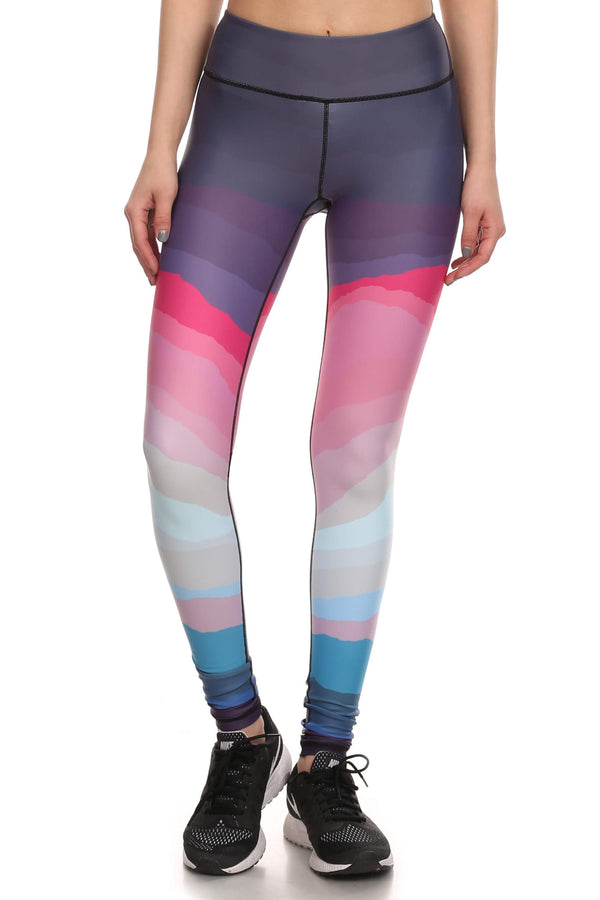 Minimalist Dream Leggings - Purple - POPRAGEOUS  - 1