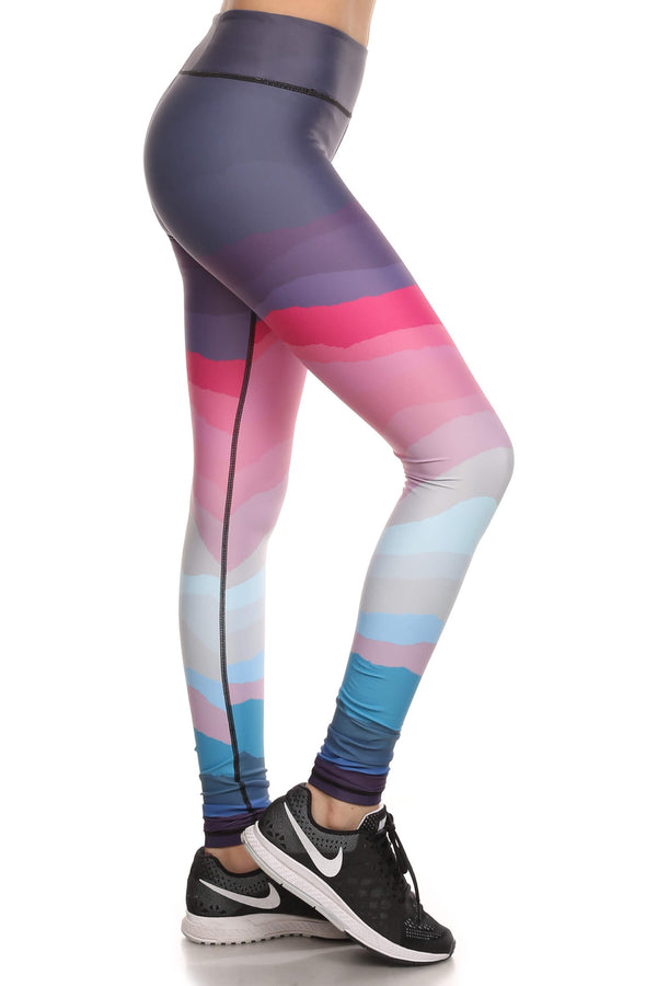 Minimalist Dream Leggings - Purple - POPRAGEOUS  - 2