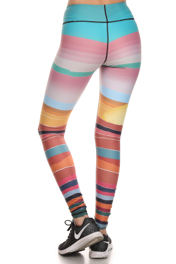 Minimalist Sunset Dream Leggings - POPRAGEOUS  - 3