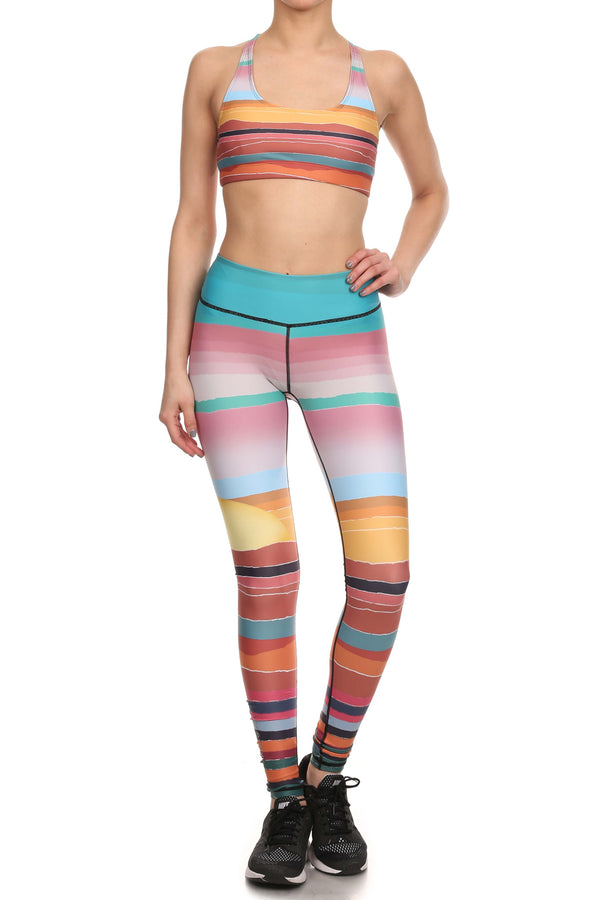 Minimalist Sunset Dream Leggings - POPRAGEOUS  - 4