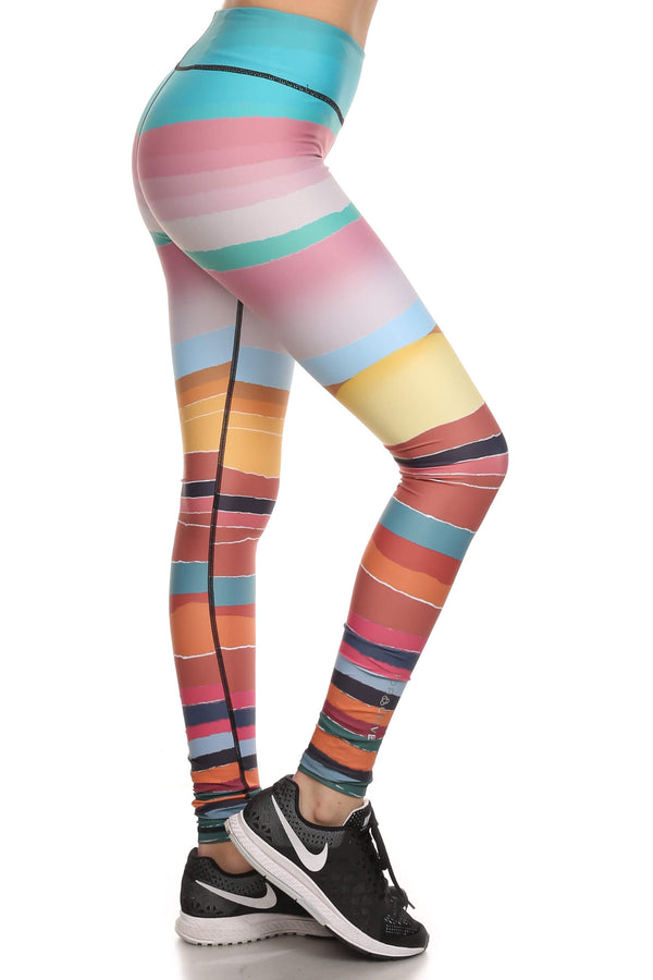 Minimalist Sunset Dream Leggings - POPRAGEOUS  - 2