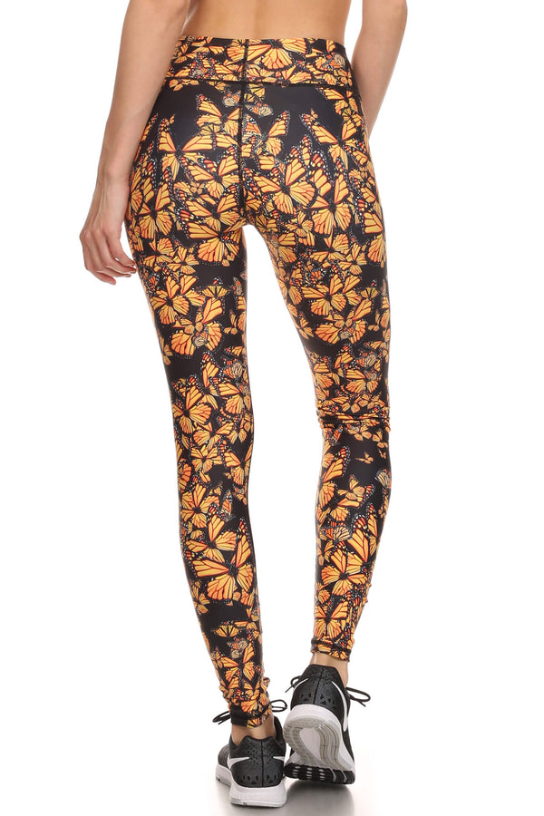 Attack of the Monarchs Dream Leggings - POPRAGEOUS  - 3