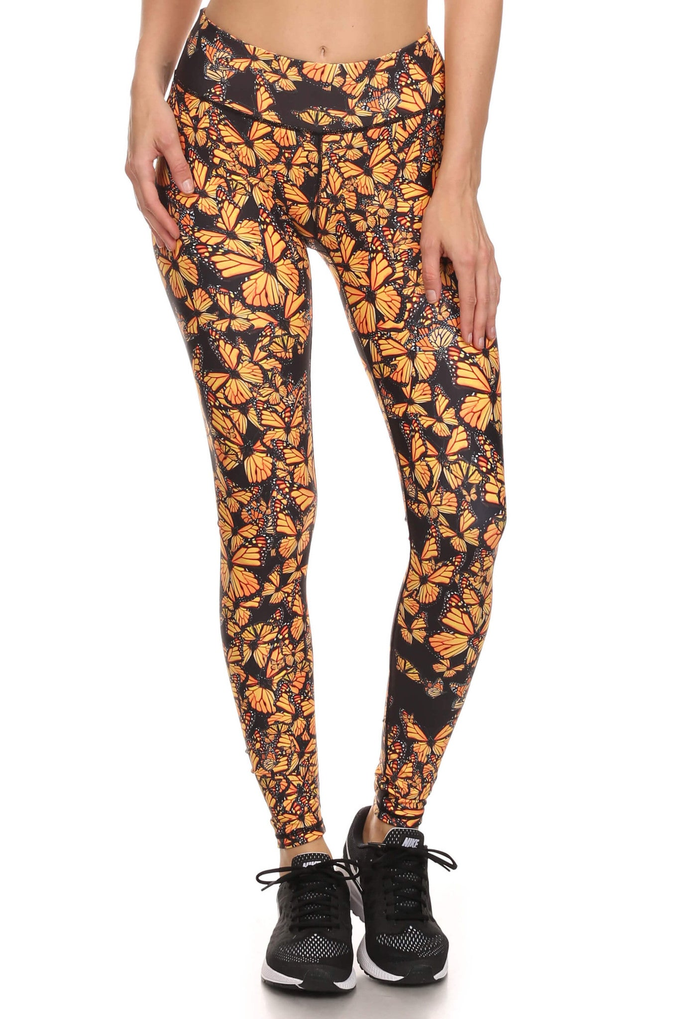 Attack of the Monarchs Dream Leggings - POPRAGEOUS  - 1