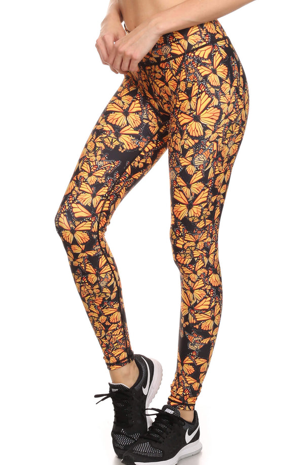 Attack of the Monarchs Dream Leggings - POPRAGEOUS  - 2