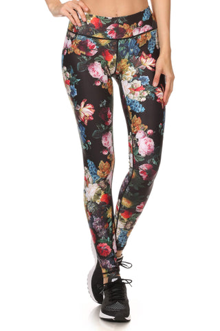 Brussel Floral Dream Leggings - POPRAGEOUS  - 1