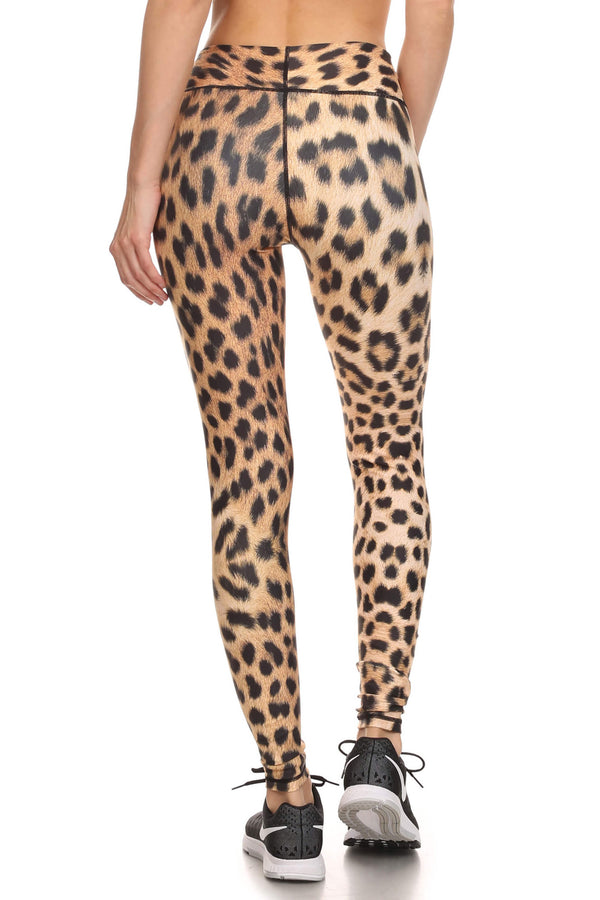 Leopard Dream Leggings - POPRAGEOUS  - 2