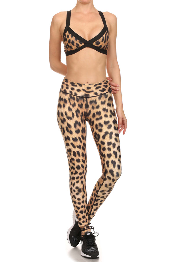 Leopard Dream Leggings - POPRAGEOUS  - 3