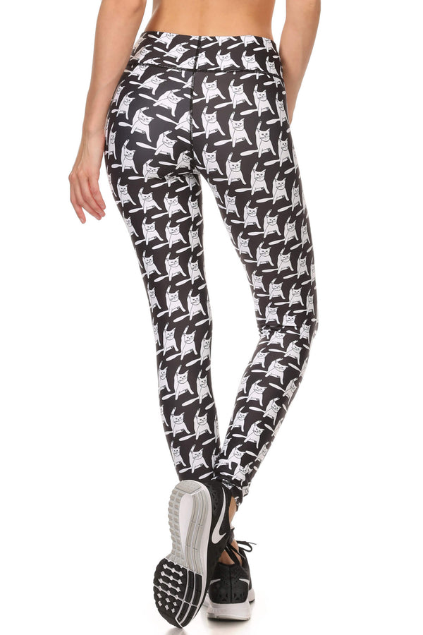 Flexi Puss Dream Leggings - POPRAGEOUS  - 3