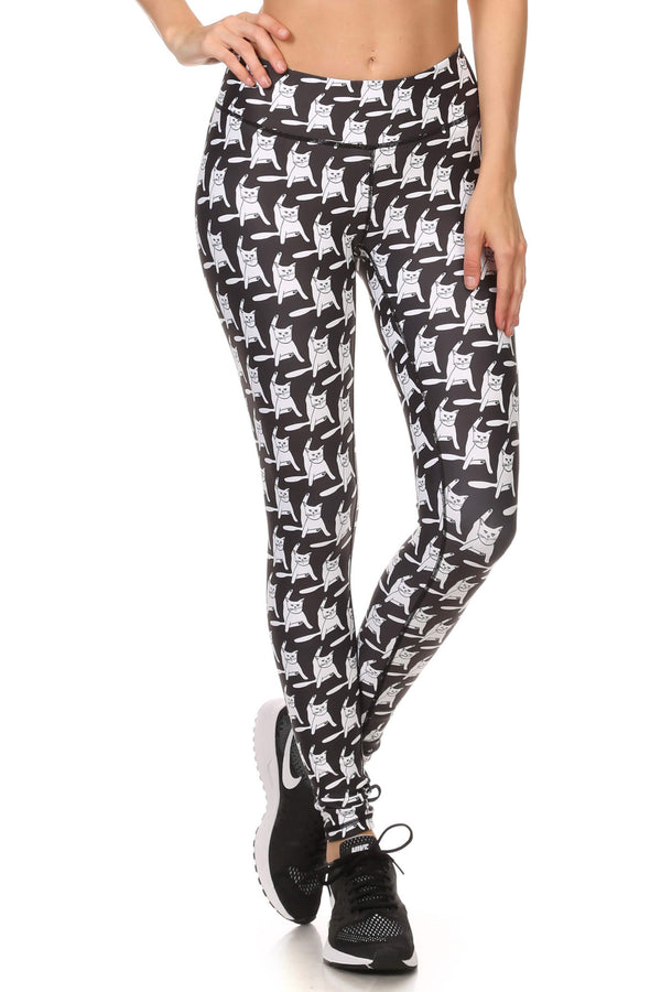 Flexi Puss Dream Leggings - POPRAGEOUS  - 1