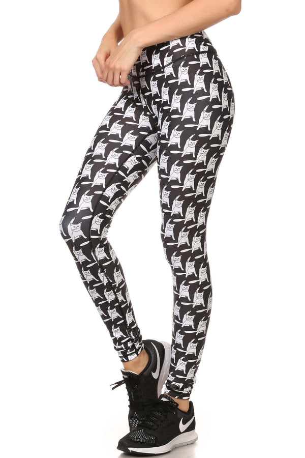 Flexi Puss Dream Leggings - POPRAGEOUS  - 2