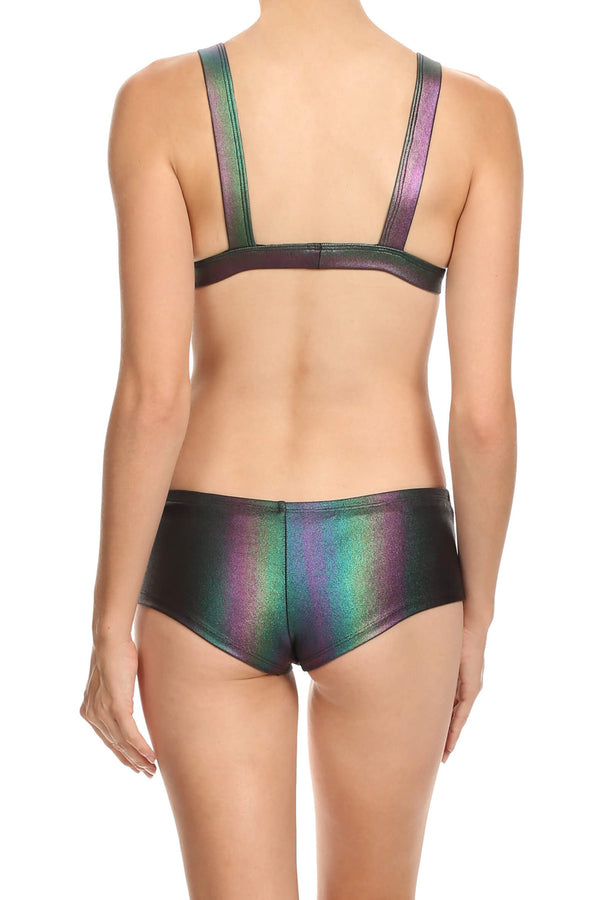 Oil Slick Boy Swim Shorts - POPRAGEOUS  - 2