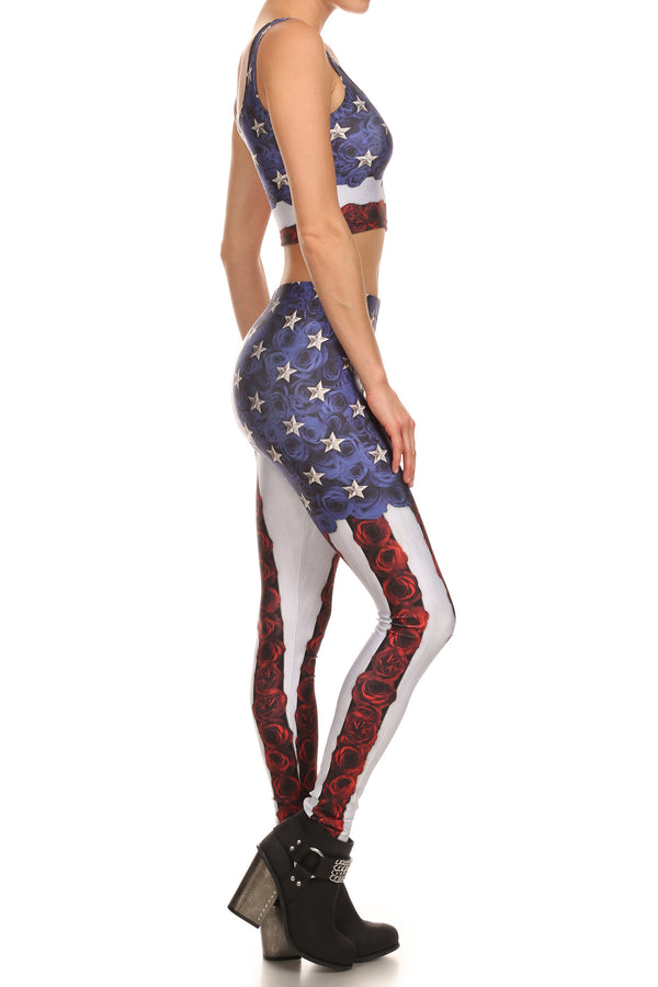 American Beauty Leggings - POPRAGEOUS  - 3