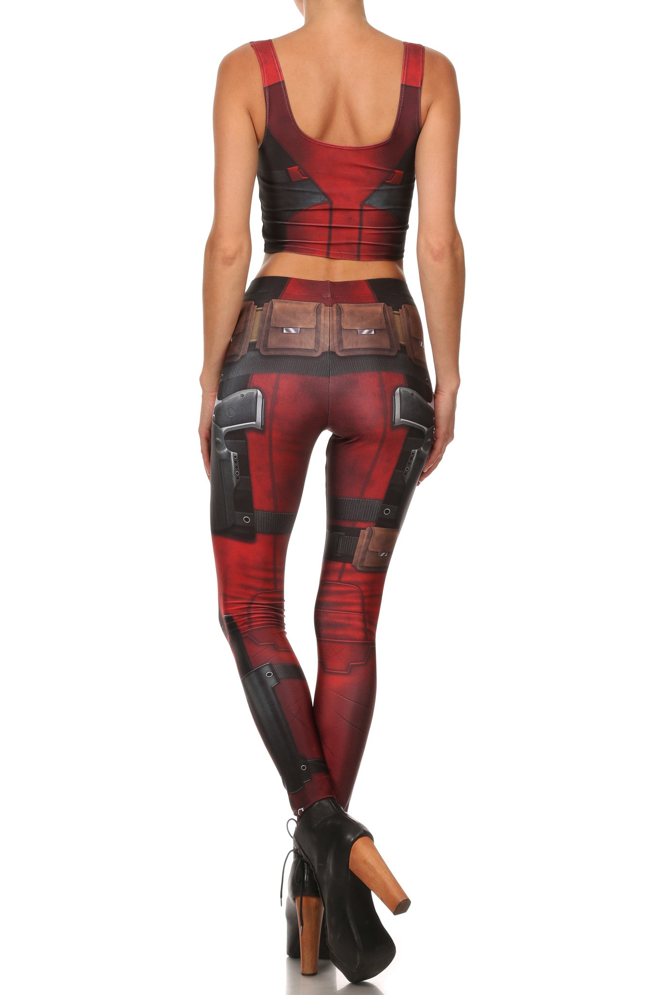 Antihero Leggings - LIMITED - POPRAGEOUS  - 4