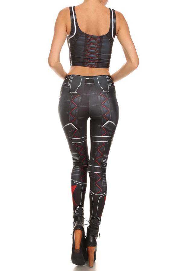 Assassin Leggings - POPRAGEOUS  - 4