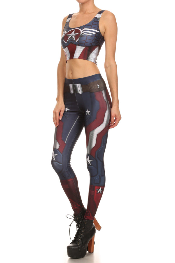 Murica Leggings - POPRAGEOUS  - 2
