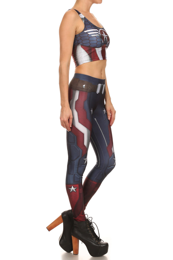 Murica Leggings - POPRAGEOUS  - 3
