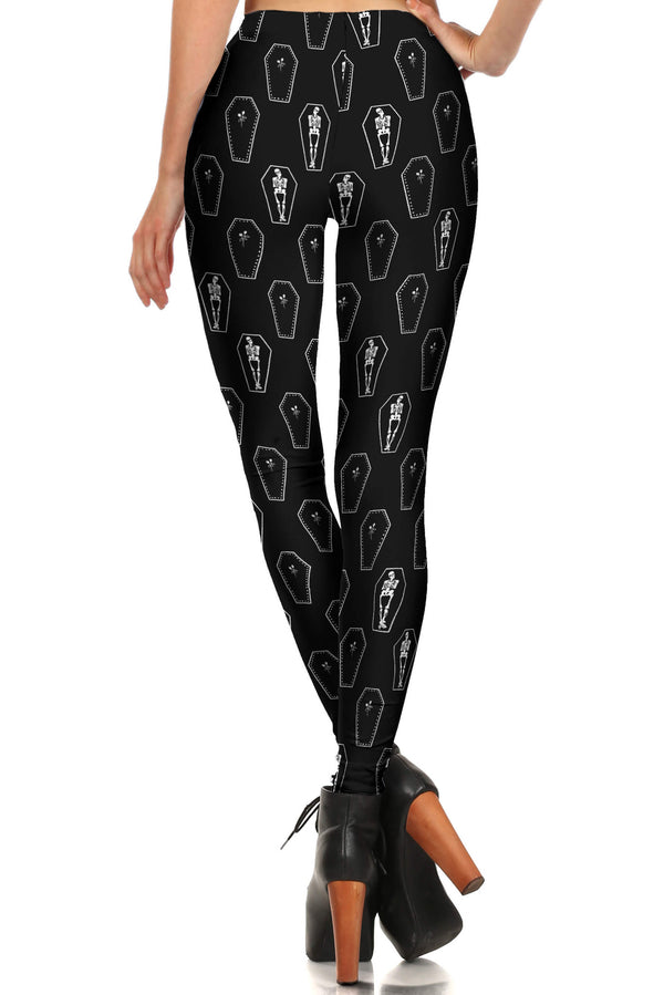 Coffin Leggings - POPRAGEOUS  - 2