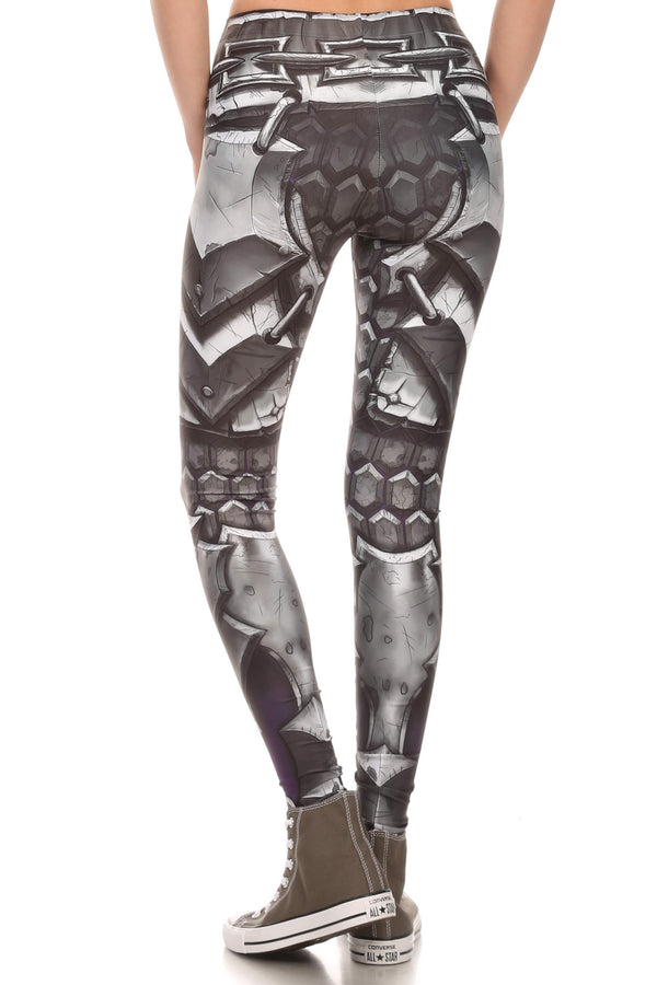 Comic Armor Leggings - POPRAGEOUS  - 3