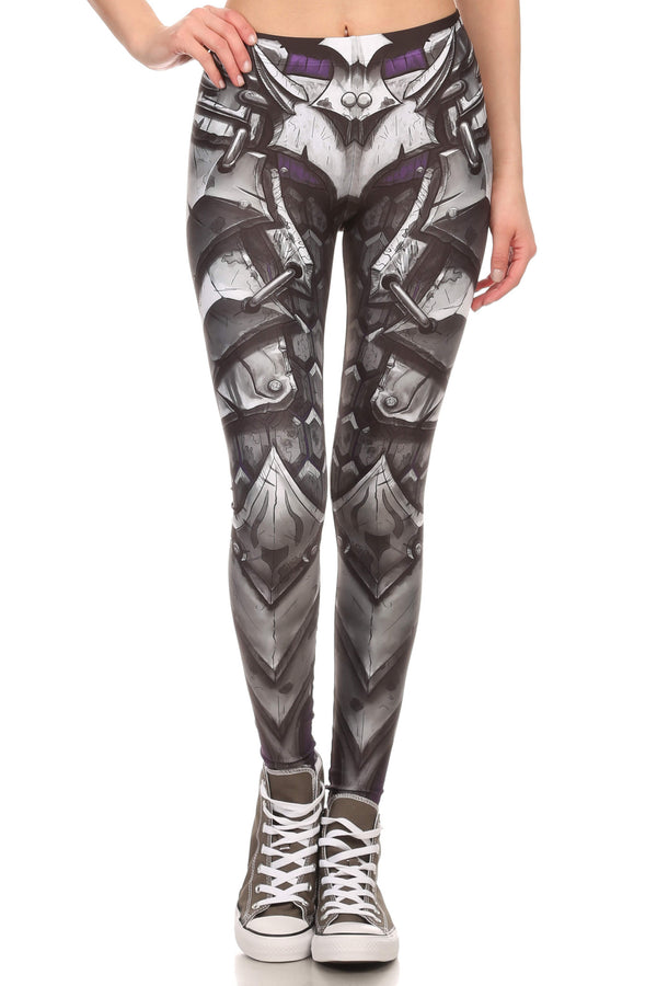 Comic Armor Leggings - POPRAGEOUS  - 1