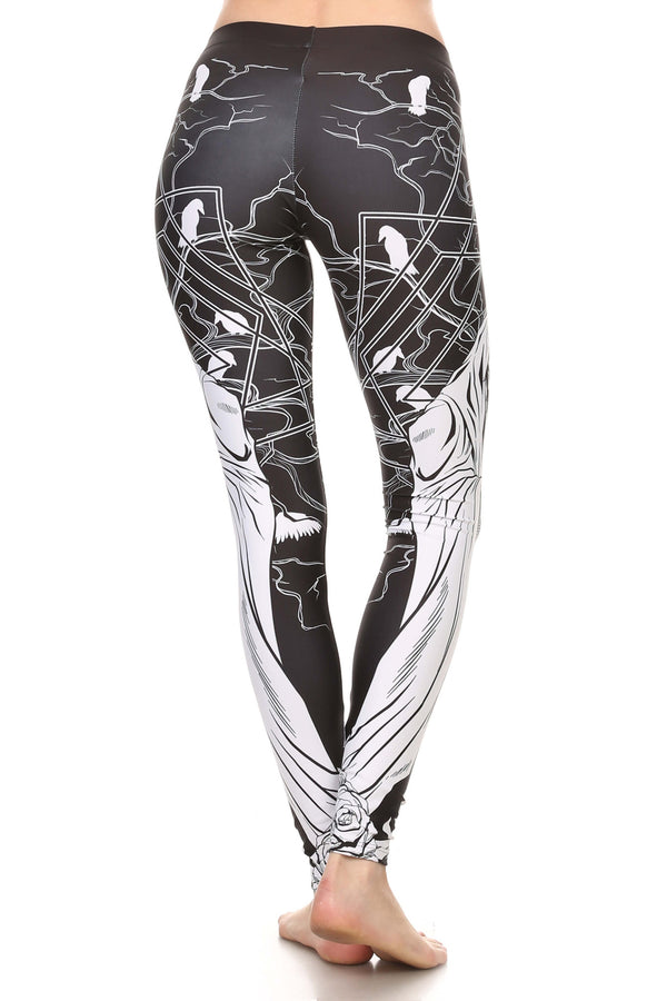 Reaper Mary Leggings - POPRAGEOUS  - 3