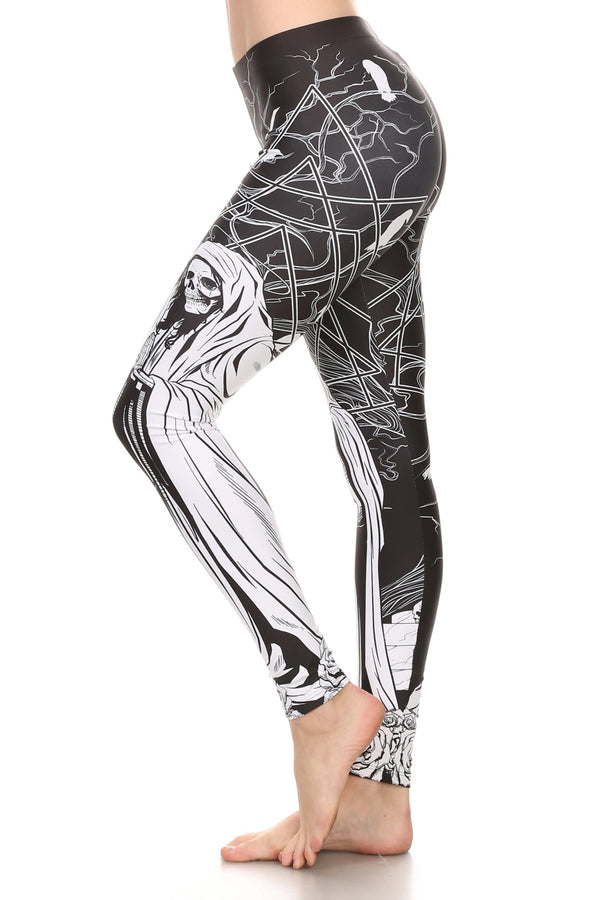 Reaper Mary Leggings - POPRAGEOUS  - 4