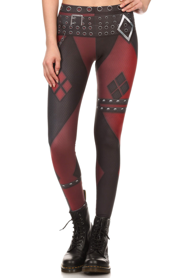 Insane Harlequin Leggings - LIMITED - POPRAGEOUS  - 1