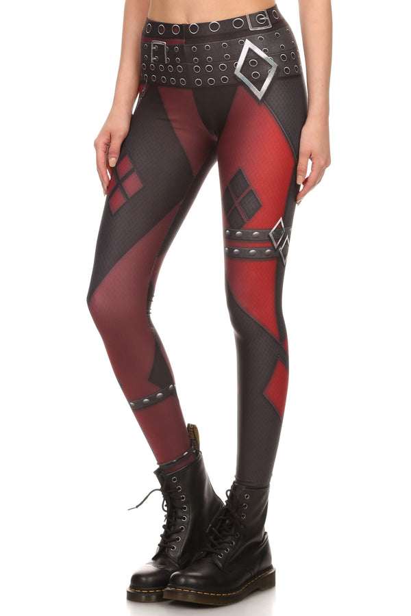 Insane Harlequin Leggings - LIMITED - POPRAGEOUS  - 2