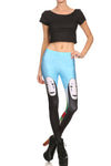No Face Leggings - POPRAGEOUS  - 1