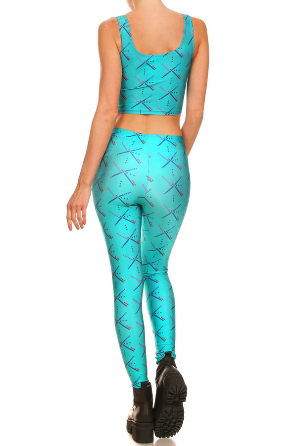 PDX Carpet Leggings - POPRAGEOUS  - 2