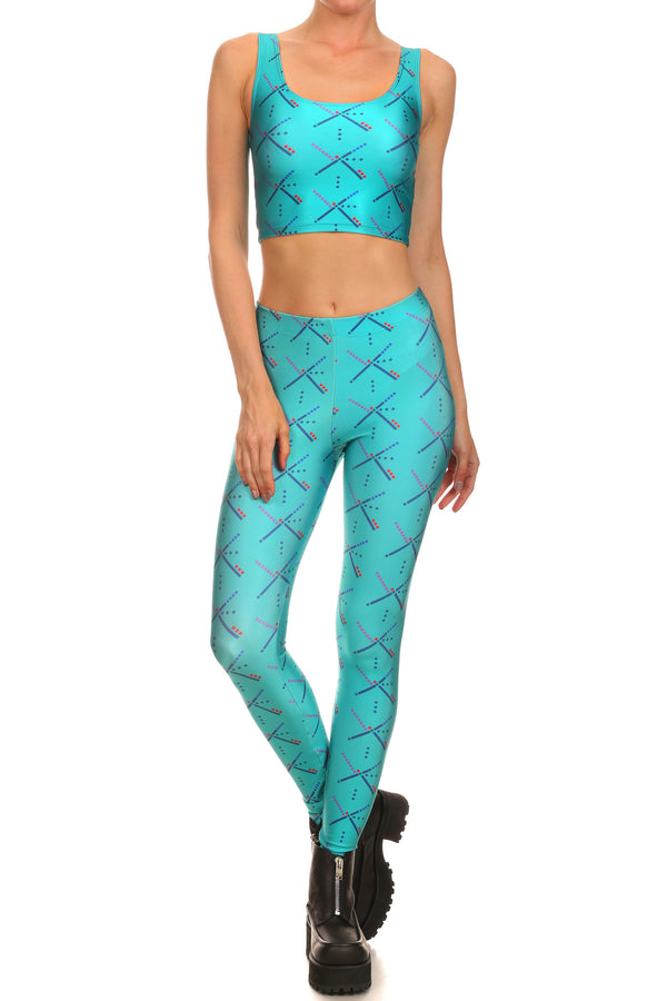 PDX Carpet Leggings - POPRAGEOUS  - 1