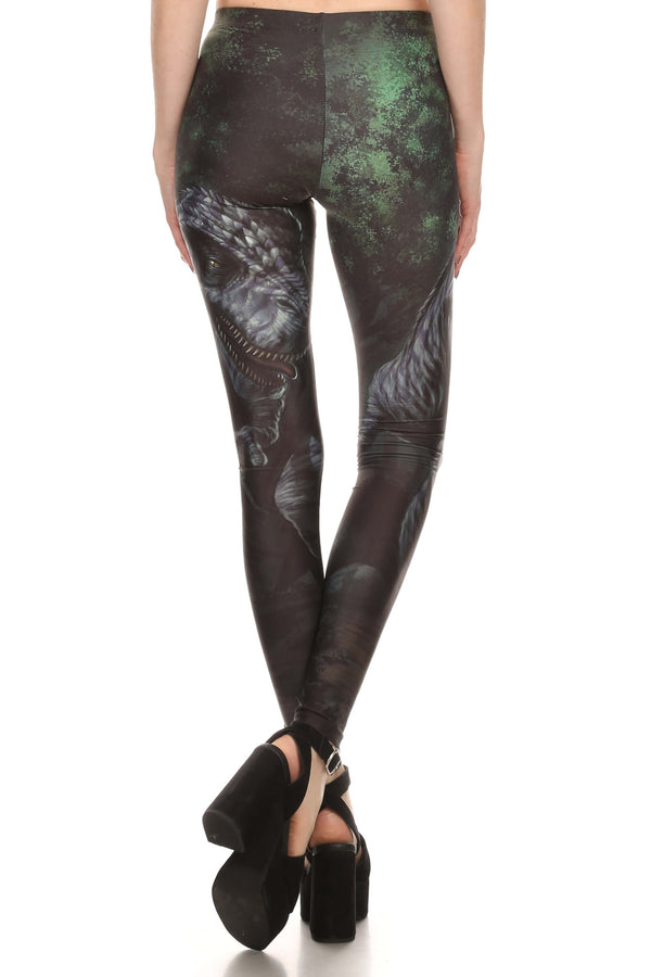 T-Rex Leggings - POPRAGEOUS  - 3