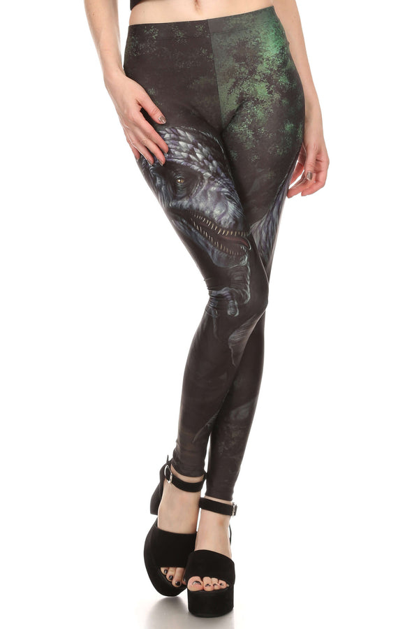 T-Rex Leggings - POPRAGEOUS  - 1