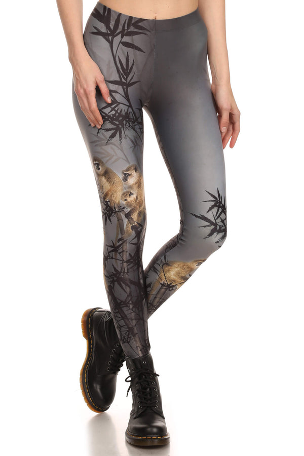 Zodiac Monkey Leggings - POPRAGEOUS  - 1