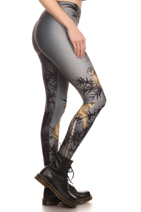 Zodiac Monkey Leggings - POPRAGEOUS  - 2