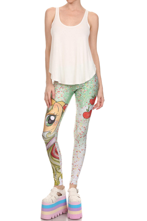 My Little Pony: Applejack Leggings - POPRAGEOUS  - 4