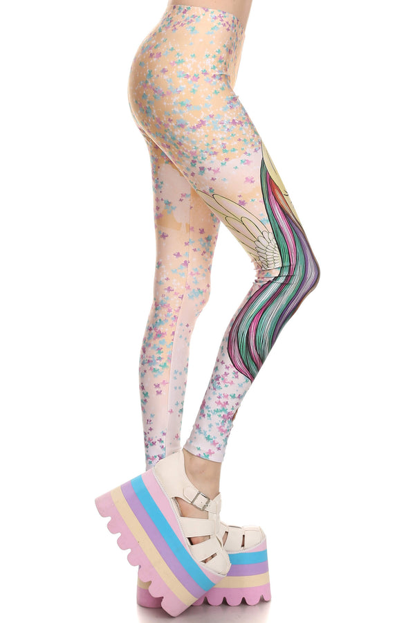 My Little Pony: Fluttershy Leggings - POPRAGEOUS  - 3